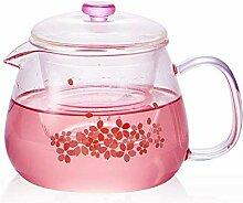 Glas Teebereiter Teekanne Glas Hitzebeständige