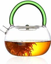 Glas Teebereiter Teekanne Glas Hitzebeständiger,