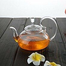 Glas Teebereiter Teekanne Glas Hitzebeständiger