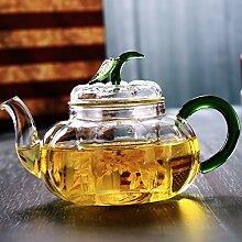 Glas Teebereiter Teekanne Glas Hitzebeständiges