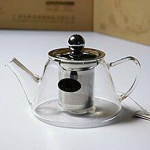 Glas Teebereiter Teekanne Glas