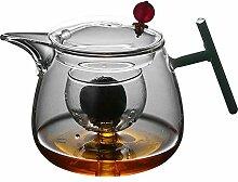 Glas Teebereiter Teekanne Glas Kleine Teekanne
