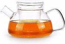Glas Teebereiter Teekanne Glas Kräuterteeset Mit