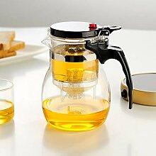 Glas Teebereiter Teekanne Glas Restaurant Haushalt