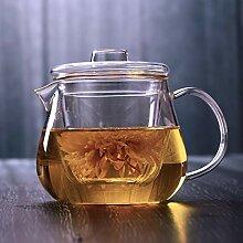 Glas Teebereiter Teekanne Glas Verdickter