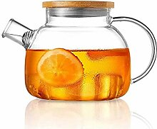 Glas Teekanne 1L Glas Teekanne Mit Großer