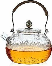 Glas Teekanne Hitzebeständiger Glas Teekanne