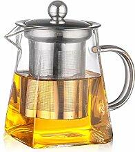 Glas Teekanne Klarglas Teekanne Mit 304 Edelstahl