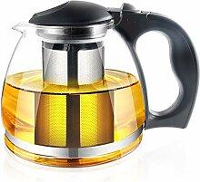 Glas Teekanne mit-Ei – 1500 ml, Tee Pot