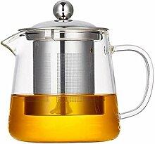 Glas-Teekanne mit großer Kapazität,
