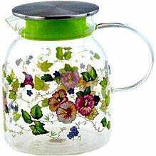 Glas Teekanne Teekanne 1,0L/L Glaskessel mit