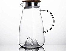 Glas Teekanne Teekanne 1,5 L/Liter Karaffe
