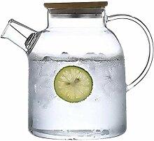 Glas Teekanne Teekanne 1,6L/L Glaskessel mit