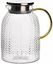 Glas Teekanne Teekanne 1,8L/L Glaskessel mit