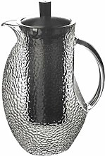 Glas Teekanne Teekanne Glaskanne mit Deckel 1350ml