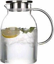 Glas Teekanne Teekanne Karaffe Borosilikatglas