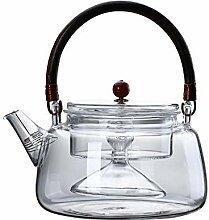 Glas Teekanne Teekanne Träger Glasblume Teekanne