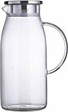 Glas-Teekanne Teekanne Wasserkaraffe Glaskessel