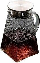 Glas Teekanne Teekanne Wasserkrug Glaskrug mit