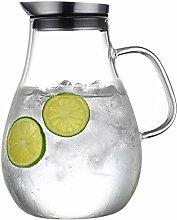 Glas-Teekanne Teekanne Wasserkrug Glaskrug mit