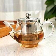 Glas Teekanne Teekessel 400 ml Handgemachte