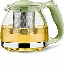 Glas Teekanne Teekessel 800ml handgemachte