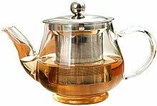 Glas Teekanne Teekessel Handgemachte Teekanne Mit