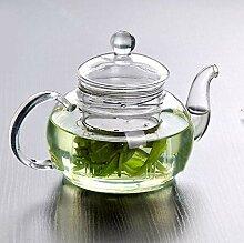 Glas Teekanne Teekessel Hitzebeständige