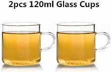 Glas Teekanne Teekessel Hitzebeständiges Glas