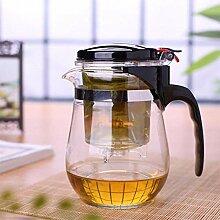 Glas Teekanne Teekessel Teekanne mit Infuser