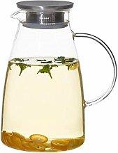 Glas Teekanne Wasserkanne Glas Teekanne Krug mit