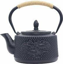 Glas-Teekanne Wasserkocher Gusseisen Teekanne mit