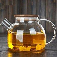 Glas Teekanne Wasserkocher Teekannen Glasteekanne
