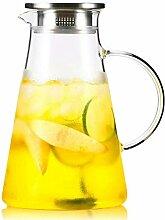 Glas Teekanne Wasserkrug Glas Teekanne Krug mit