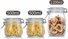 Glas versiegelt Vorratsgläser Küche Haushalt