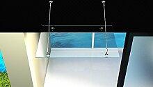 Glas-Vordach 180 x 90 cm