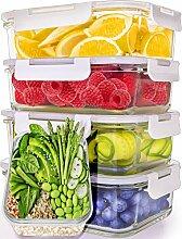Glas-Vorratsdosen für Mahlzeiten, 5 Stück, 30oz]