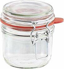 Glas Vorratsgläser mit Deckel Airtight Clip