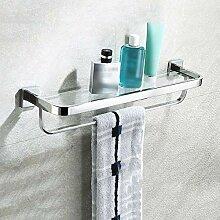 Glas Wandregal Badezimmer-Regal, 304