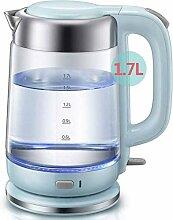 Glas-Wasserkocher 1,7 l Öko-Akku-Glaskessel
