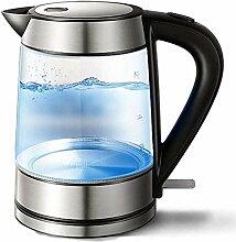 Glas-Wasserkocher, 1,7 l Öko-Wasserkocher,