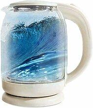 Glas-Wasserkocher 1500W Schnellheizkessel