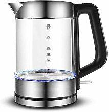 Glas-Wasserkocher Elektrisch,1,8-l-Akku-Teekessel
