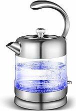 Glas-Wasserkocher Elektrisch1 6 l
