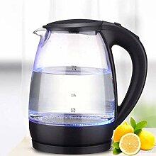 Glas-Wasserkocher Elektro, 1,7 l Akku-Teekessel