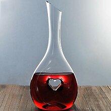 Glas-Wein-Dekanter Transparent Professionelle Wein