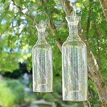 Glas-Wespenfalle Höhe 45,5cm Gartendeko Insektenschutz Mückenfalle Fliegenfänger