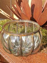 Glas Windlicht Manarola