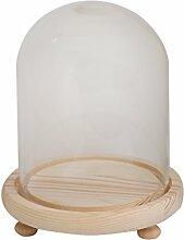 Glasabdeckung Landschaft Vase Behälter Kuppel Mit Tablett Pflanze Blumendekor