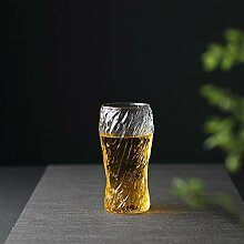 Glasbecher Trinkgläser Bierglas Cup Whisky-Glas